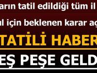 İstanbul Ve Ankara'da Yarın Okullar Tatil Mi? Bir İlde Daha Okullar Tatil Edildi!