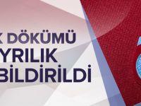 Trabzonspor Ayrılıkları Kap'a Bildirdi.
