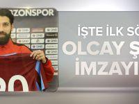 Olcay Şahan, Trabzonspor'a İmzayı Attı.
