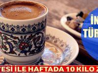 Türk Kahvesi ile Haftada 10 Kilo Zayıflatan Diyet Listesi