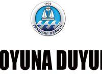 Trabzon Baro Yönetim Kurulu Kamuoyu Duyurusu Yayınladı.