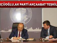 Başkan Gümrükçüoğlu AK Parti Akçaabat Teşkilatını Kabul Etti