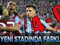 Trabzonspor Yeni Stadında Farklı Başladı.