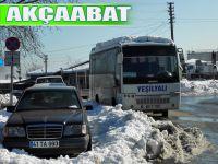 Akçaabat'ta Yasaklı Yerlere Araçlarını Çeken Sürücülere Tepki Var