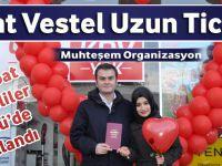 Akçaabat Vestel Uzun Ticaret Sevgililer Gününü Muhteşem Organizasyon İle  Kutladı..