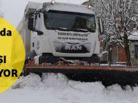 Trabzon'da Kar Yağışı Devam Ediyor
