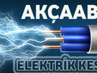 Akçaabat'ta Elektrik Kesilecek