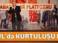 Akçaabatlılar Platformu, İstanbul'da Kurtuluşu Kutladı