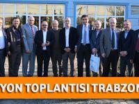 Karadeniz Bölgesi 6. Su ve Kanalizasyon İdareleri Koordinasyon Toplantısı Trabzon'da gerçekleştirildi