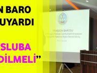 Trabzon Barosu Başkanı: Kuvvetler Ayrılı İlkesi İşlevsiz Hale Gelir