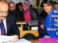 Büyükşehir Belediyesinden YGS Öncesi Öğrencilere Moral Ve Motivasyon Desteği