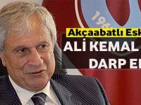 Akçaabatlı Eski Milletvekili Ali Kemal Başaran Darp Edildi.
