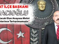 """CHP Akçaabat İlçe Başkanı Musa Hacıoğlu """"Kamuoyu Olup Bitenin Farkındadır"""""""