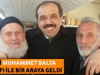 """Milletvekili Muhammet Balta Akçaabat'ta Esnaf İle Bir Araya Geldi"""