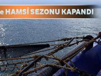 Karadeniz'de Hamsi Sezonu Kapandı