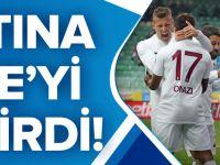 Trabzonspor Deplasmanda Çaykur Rizespor'u Tek Golle Geçti.