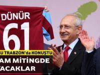"""Kemal Kılıçdaroğlu Trabzon'da Konuştu"""" Ben Olmasam Miting De Yapamayacaklar"""""""