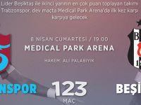 Trabzonspor İle Beşiktaş 124. Randevuda