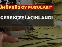 YSK'nın 'Mühürsüz Oy Pusulası' Kararının Gerekçesi Açıklandı