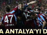Trabzonspor Deplasmanda Antalyaspor'u Yıktı.