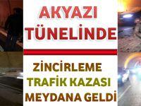 Gün Geçmiyor Ki Akyazı Tünellerinde Trafik Kazası Olmasın