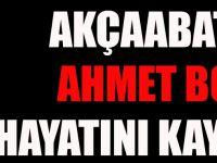 Akçaabatlı Cami Ustası Ahmet Boz Samsun'da Hayatını Kaybetti