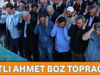Cami İnşaatında Hayatını Kaybeden Akçaabatlı Ahmet Boz Toprağa Verildi