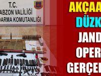 Akçaabat Ve Düzköy'de Jandarma Operasyonu