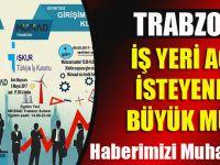 Trabzon'da Vatandaşlara İş Yeri Açmak İsteyenlere Müjde!