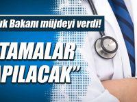 """""""Sağlık Bakanı Recep Akdağ,Atamalar Yapacağız"""""""