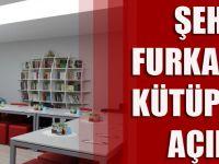 Şehit Furkan Yayla'nın Silah Arkadaşları, Şehidin Adını Yaşatmak Adına Kütüphane Açtı