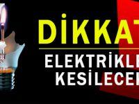 Trabzon'da Planlı Elektrik Kesintisi Yapılacak.