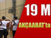 19 Mayıs Akçaabat'ta Kutlandı