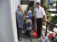 Zeki Öztürk, Bu Sefer Engelli Vatandaşlara Kucak Açtı.