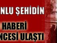 Trabzonlu Şehidin Acı Haberi İftar Öncesi Ulaştı!