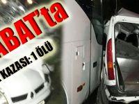 Akçaabat Mersin'de Trafik Kazası:1 Ölü!