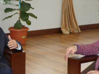 Başkan Gümrükçüoğlu, Başkan Usta'yı Kabul Etti