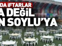 Trabzon'da İftarlar Halka Değil Bakan Soylu'ya