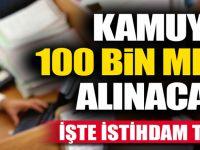 100 Bin Memur Alınacak