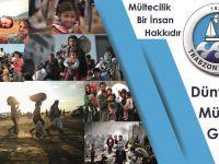 Trabzon Barosundan Dünya Mülteciler Günü Basın Açıklaması
