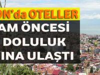 Trabzon'da Otellere Bayram Geldi!