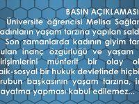 Trabzon Barosundan Basın Açıklaması