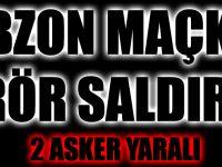 Trabzon'un Maçka İlçesinde Terör Saldırısı:2 Asker Yaralı