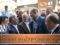 Trabzon, Büyükşehir Belediyesinde Bayramlaştı
