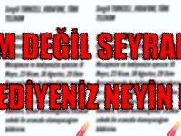 Sevgili Turkcell,Vodafone,Türk Telekom Hediyenizi Kabul İstemesem de....