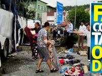 Giresun'da Çocukları Taşıyan Otobüs Devrildi: 38 Yaralı