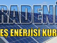 Karadeniz'e İlk Güneş Enerjisi Kuruluyor