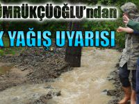 Başkan Gümrükçüoğlu'ndan Sağanak Yağış Uyarısı