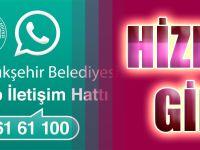 Whatsapp İletişim Hattı Hizmete Girdi