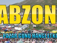 Cumartesi - Pazar Günü Trabzon'da Gidecek Olduğunuz Program Ve  Etkinlikler